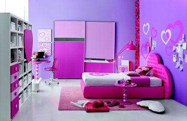 Bright and Funky Girl's Bedroom Design