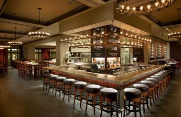 Classy, Spacious Bar Design