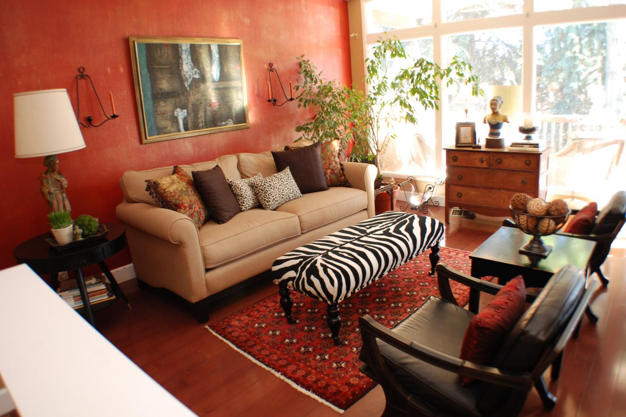 Cosy African Living Room