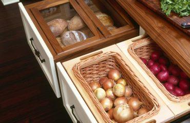 Hidden kitchen Storage