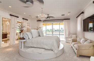 Lavish White Hotel Room