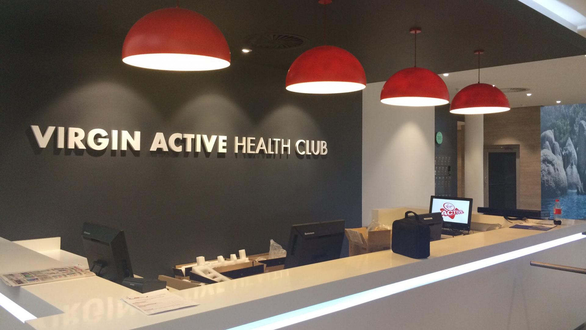 Virgin Active - Reception Area