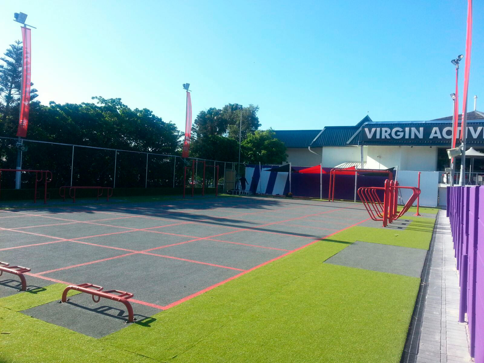 Virgin Active - Seapoint - Synthetic Grass